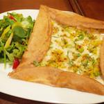 ガネーシュ - ポテトチーズ・ドーサ(1204円・外税)