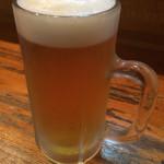 たぬき - ドリンク写真:まずはビール