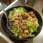 インド定食ターリー屋 - スパイシーインド豆のサラダ