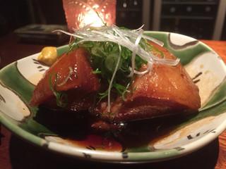まんざら亭 NISHIKI - オススメの豚の角煮