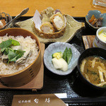 日本料理 旬坊 - 牡蠣ご飯膳