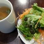 jeeco - スープ、サラダはセルフ 2015.12