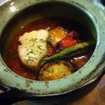 カフェ ミール バロック - 自家製豚塩バラ肉のトマト煮込み