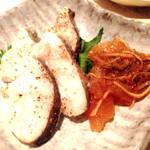 45435739 - 宴会料理…鱈の…⁇←ハマるスパイシーさ…カズノコの松前漬け〜思いっきり和w
