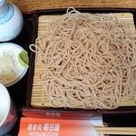 蕎麦処 朝日屋 - もりそば650円(税込)