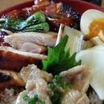 45437420 - 焼鳥丼アップ 2015.12