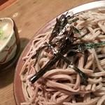 45437544 - ざるそばとけんちん汁 2015.12