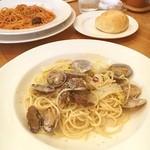 アルデンテ - アサリと白菜のクリームパスタ