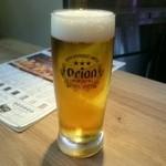 沖縄クラフトビール&琉球バル ガチマヤ - オリオン生ビール