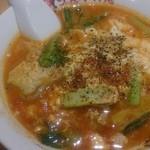 太陽のトマト麺 - 太陽のエッグラーメン