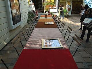 セアダスフラワーカフェ - 清々しいオープンカフェ