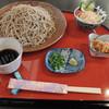 手打ちそば 土師野尾 - 料理写真:ざる蕎麦(大盛り)