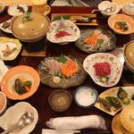 雲峰荘 - 夜のお食事