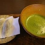 走井餅老舗 - 走井餅セット(抹茶)