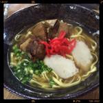 琉球 - ソーキそば定食 860円