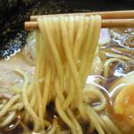 旬彩食堂 ふじ山 - 太めのストレート麺