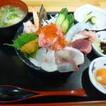 ゑびす丸 - 料理写真:コラボ丼