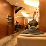 上島珈琲店 - 入り口近くの席しか空いていなかった~
