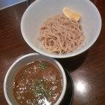 45446436 - ホルモンつけ麺500円(プレ価格)通常880円