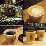 ビー ア グッド ネイバー コーヒー キオスク - 2015.12 ジンジャーラテおいしい〜(*^_^*)
