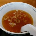 浅野食堂 - ラーメンスープ