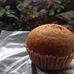 45448211 - しょうゆ蒸しパン。しょうゆが隠し味の黒糖蒸しパンです。