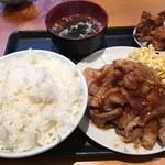 マルナカ - 生姜焼き定食