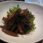 4545704 - 山葵醤油漬け。これと日本酒だけでもいいくらい好き。