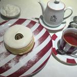 45450138 - フレンチパンケーキの紅茶セット
