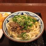 丸亀製麺 - 肉たま あんかけ