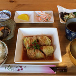 野の花 - 料理写真:日替わりランチ850円