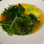 虞妃 - 3種の野菜の炒め