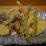 すし魚菜 かつまさ - 上天ぷら膳の天ぷら