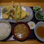 すし魚菜 かつまさ - 上天ぷら膳