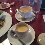 ラ フェリーチェ - カフェオレと茶碗蒸し
