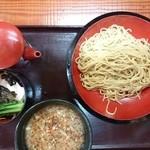 イツワ製麺所食堂 - 2015年10月 イツワつけ麺 太麺250g 790円