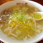 函館ラーメン園 - 料理写真:しおラーメン 600円