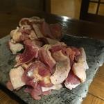 琉球炭火焼居酒屋 すいしゃ - 料理写真:地鶏&赤鶏