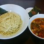 ●2015 #227 @辛つけ麺/正油+追い煮干し ¥650