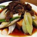 岸田屋 - 岸田屋(都内中央区月島)肉どうふ650円
