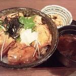まぐろ食堂 まりん - 2015年12月11日 炙りづけ丼780円(税込)