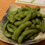 居心伝 - 最初の枝豆