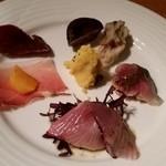 マンジェ・エ・ボワール NAGAO - 前菜盛り合わせ