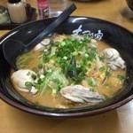 みそ膳 古殿家 - 牡蠣みそらーめん 840円☆(第八回投稿分①)