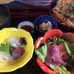 和洋菜彩 花もみじ - 生姜焼き丼