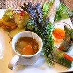 アジアごはんとおはぎ 善 - 前菜1