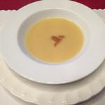 プードル - さつまいものスープ