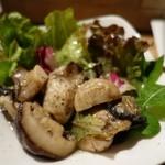 ひなた - (2015/10月)「生マッシュルームのサラダ」