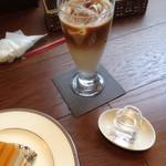 45461934 - 僕のカフェラテ(アイス)♡