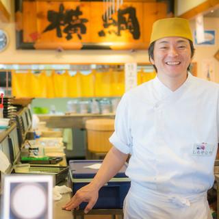 神楽坂で修業した職人が握る本格寿司!!